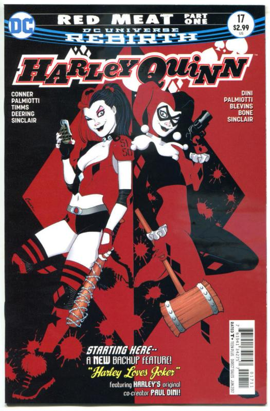 HARLEY QUINN #17, NM, Rebirth, Amanda Conner, Palmiotti, 2016,more HQ in store,A