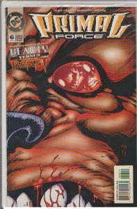 PRIMAL FORCE #6 - DC - BEAUTY vs THE BEAST - APRIL 1995