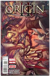 ORIGIN II #4, WOLVERINE, VF/NM, Gillen, Adam Kubert, 2014, more Marvel in store