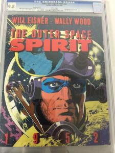 Will Eisner Wally Wood The Outer Space Spirit 1952 Graphic Novel 1 Cgc 9.8 2ndp