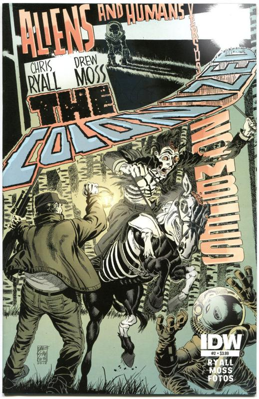 COLONIZED #2, NM, Zombies, Aliens, Dave Sim, 2013, IDW, more Sci-Fi in store