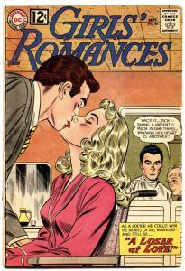 Girls' Romances #86 1962-DC-pretty wheelchair girl-drama-thrills-VG-