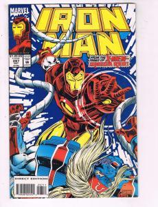 Iron Man # 297 VF/NM Marvel Comics Avengers Captain America Thor Hawkeye!!! SW14