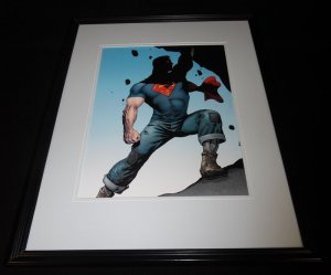 Superman 2015 DC New 52 Framed 11x14 Photo Poster B