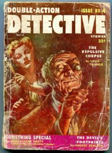 Double-Action Detective Stories Pulp #4 1956- Talmage Powell FAIR