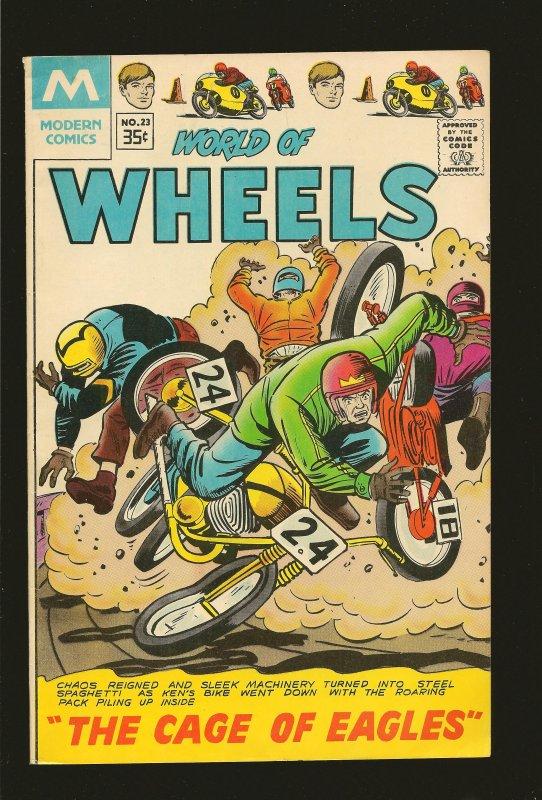 Modern Comics World of Wheels No 23 1968