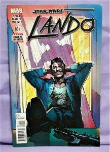 Charles Soule Star Wars LANDO #1 Alex Maleev (Marvel, 2015)!