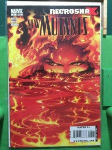 New Mutants #8 2009 series Necrosha