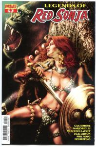 LEGENDS of RED SONJA #4, VF+, She-Devil, Sword,  Jay A., 2014, more RS in store