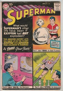 Superman #132 (Oct-59) FN Mid-Grade Superman