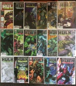 Immortal Hulk 3 14 16 19 22 23 24 26 27 28 29 31 + Variants 19 Book Lot