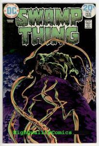 SWAMP THING #8, Bernie Wrightson, 1974, Lurker in Tunnel 13, VF/NM (b)