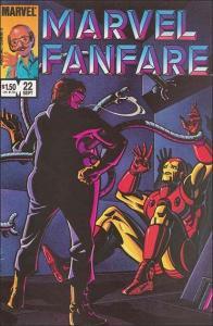 Marvel MARVEL FANFARE (1982 Series) #22 VF