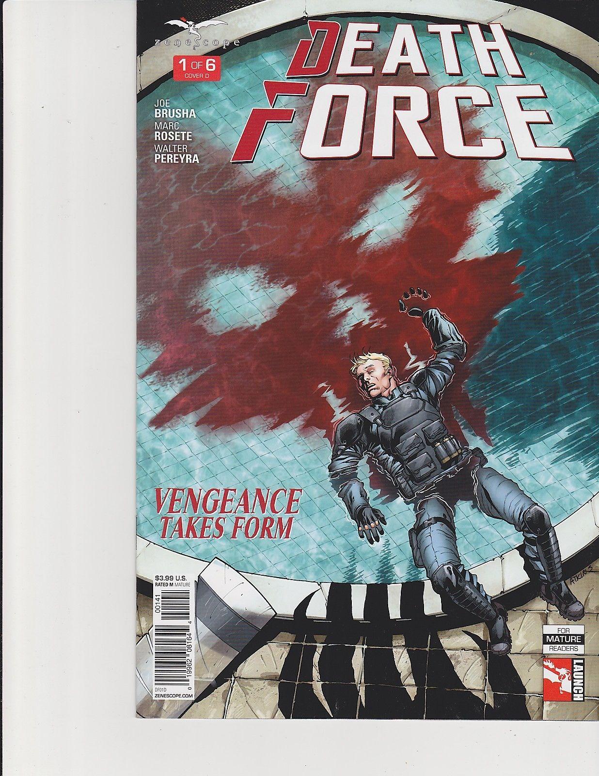 ~ Zenescope comic Death Force #1 1B cover