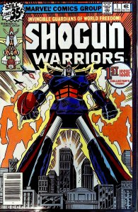 Shogun Warriors #1 (1979)