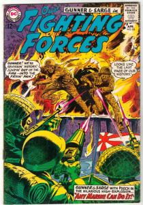 Our Fighting Forces #83 (Apr-64) FN/VF Mid-High-Grade Gunner and Sarge, Pooch