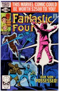 Fantastic Four #222 NM 9.4 Reed and Sue's son is possessed! ORIGINAL OWNER!
