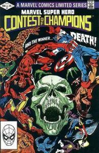 Marvel Super Hero Contest of Champions #3, VF (Stock photo)