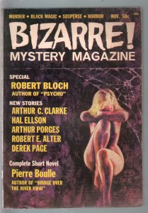 Bizarre Mystery #2 11/1965-Planet Of The Apes-Booulle-Clarke-Bloch-pulp terro...