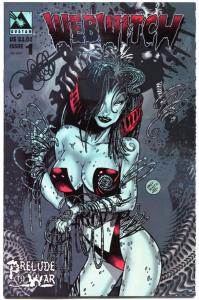 WEBWITCH Prelude to WAR #1, VF/NM, Raffienco, Horror, more Avatar in store