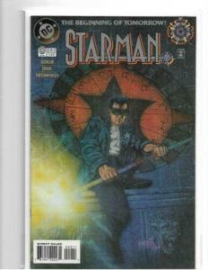 STARMAN #0 (1994) - NM - DC COMICS ZERO HOUR 1ST APPEARANCE OF JACK KNIGHT!