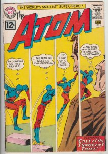 Atom, The #4 (Jan-63) FN/VF- Mid-High-Grade The Atom