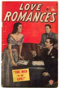 Love Romances #7 1949- Marvel Golden Age- Jack Kamen G