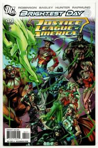 Justice League of America #44 Brightest Day (DC, 2010) VF/NM