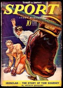 SPORT STORY-FEB 2 1939-CLASSIC BOXING COVER FN