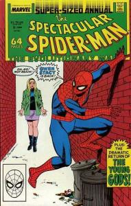 Spectacular Spider-Man (1976 series) Annual #8, VF+ (Stock photo)
