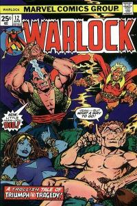 Warlock (1972 series) #12, VF- (Stock photo)