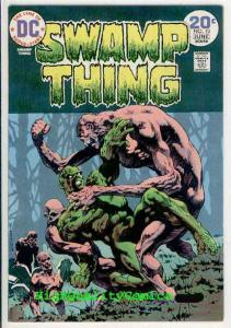 SWAMP THING #10, VF+ to NM, Bernie Wrightson, 1974, Len Wein, Orlando
