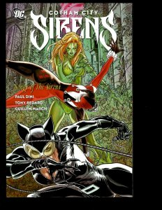 Gotham City Sirens: SONGS OF THE SIRENS DC Comic Book TPB Graphic Novel J400