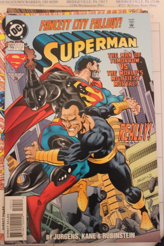 Superman  102 NM