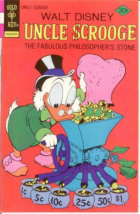 UNCLE SCROOGE 132 VF  September 1976 COMICS BOOK