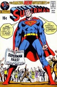 Superman #220 (ungraded) stock photo ID#B-10 / 001