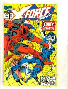 X-Force # 11 NM Marvel Comic Book Domino Deadpool Cable X-Men Wolverine SM8