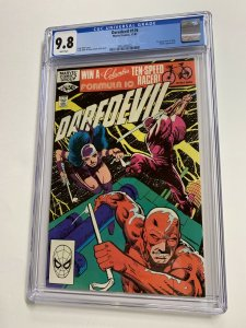 Daredevil 176 Cgc 9.8 White Pages Marvel Frank Miller 1st Stick 2061440020