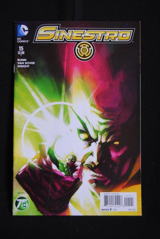 Sinestro, #14, #15, NM, Cullen Bunn