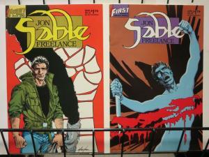 JON SABLE, FREELANCE 34-35 Sable vs white supremicists!