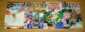 Jack of Hearts #1-4 VF complete series - all newsstand variants - marvel 2 3 set