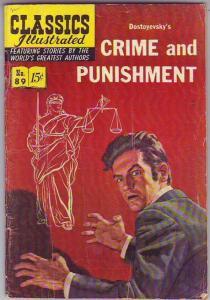 Classics Illustrated #89 (Nov-51) VG Affordable-Grade
