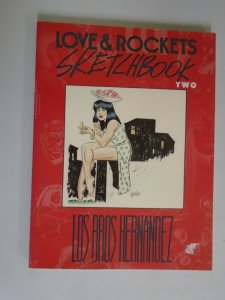 Love and Rockets Sketchbook #2 SC 6.0 FN price tag on cover (1992 Fantagraphics)