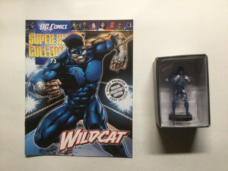 Wildcat 73 Super Hero Collection Lead Figure and Magazine Dc Eaglemoss