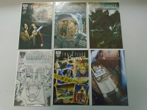 X-Files Conspiracy set 6 different issues 8.0 VF (2014 IDW)