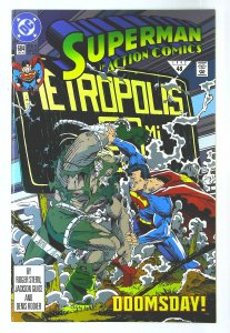 Action Comics (1938 series) #684, NM (Actual scan)