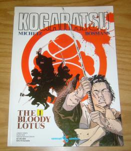Kogaratsu: the Bloody Lotus #1 VF/NM comcat comics graphic novel 1990 michetz