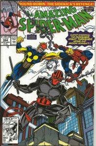 Amazing Spiderman #354 ORIGINAL Vintage 1991 Marvel Comics Nova
