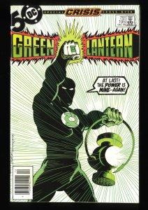 Green Lantern #195 NM 9.4 Newsstand Variant Guy Gardner becomes Green Lantern!