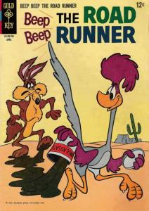 Beep Beep, The Road Runner (Gold Key) #3 FN; Gold Key | save on shipping - detai